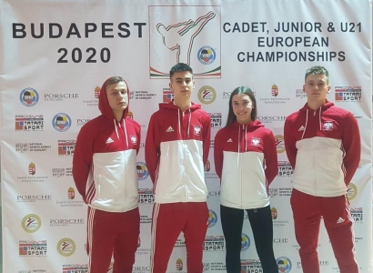 47th European Juniors&Cadeta Karate Championship Budapeszt 2020
